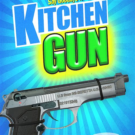 Kitchen Gun by Artstation Kitchen Gun Sebastian Slotwinski