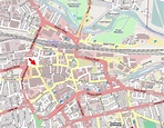 File:Location of The Hope Tap, 99-105 Friar Street ...