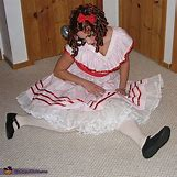 Homemade Broken Doll Costume | 508 x 510 jpeg 170kB