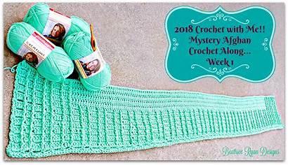 Crochet Mystery Afghan Week Cal Ravelry Along