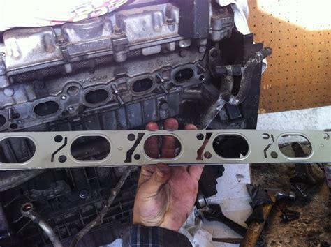 diy  volvo  exhaust manifold replacement volvo