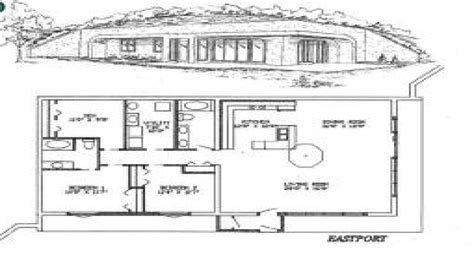 earth sheltered homes earth sheltered home plans designs small solar house plans