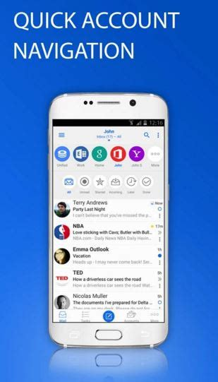 best email app for android 8 best email apps for android 2016