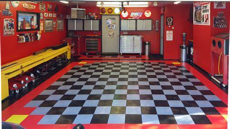garage flooring buyer s guide tiles rolls epoxy more