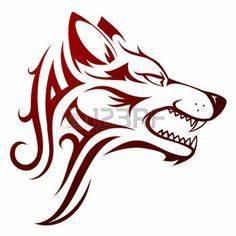 Tatouage Loup Celtique : pochoir le loup loups tatouages et pochoir ~ Farleysfitness.com Idées de Décoration