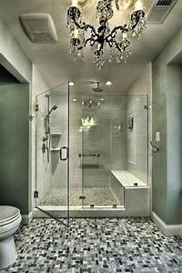 Nice shower dream home pinterest for Dreams about bathrooms