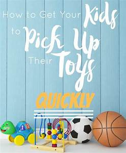 How to Get Your Kids to Pick Up Their Toys Quickly