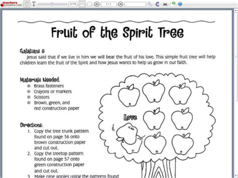 all worksheets 187 fruit of the spirit worksheets