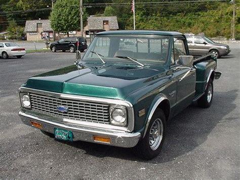 Sell Used 1971 Chevrolet Stepside Pickup Truck Very Nice