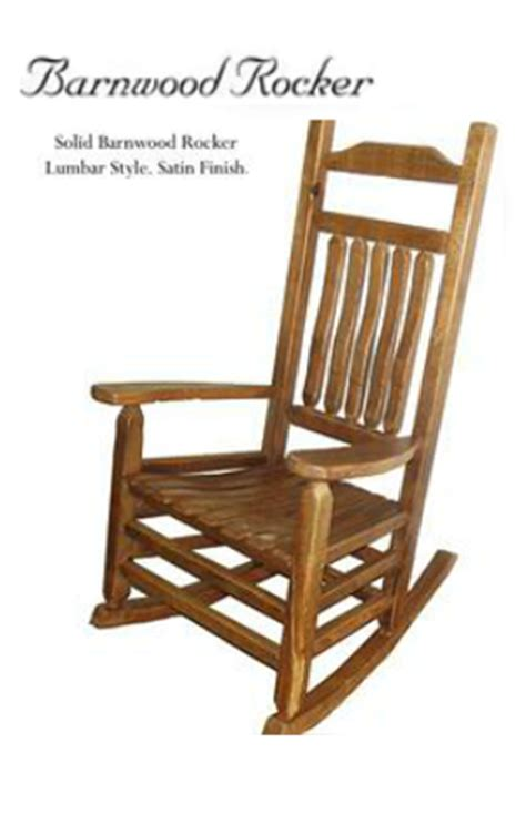 olde south casket company commemorative rocking chairs