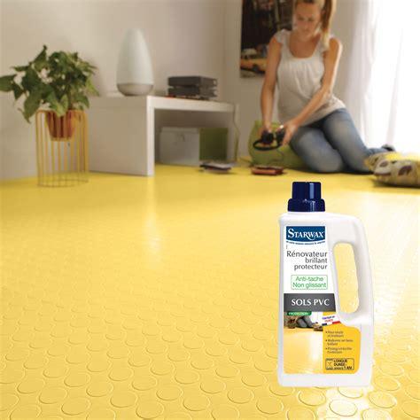r 233 novateur brillant protecteur pour sols pvc starwax produits d entretien maison