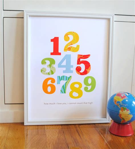 Fill your classroom with colors! Alphabet Print primary colors modern wall art nursery