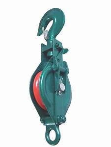 China Pulley Block Single With Hook K Type
