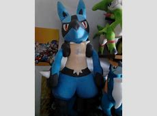 My first post! Lucario says hi! pkmncollectors