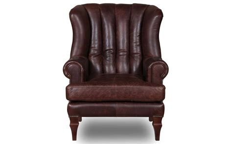 Cropwell Vintage Brown Leather Armchair| Kontenta