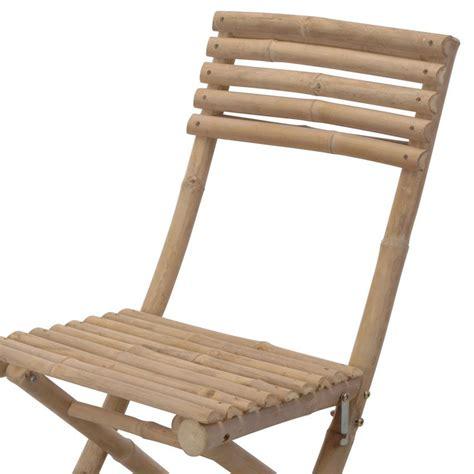 la chaise de bambou lot de 2 chaises de jardin pliantes bambou chaise et