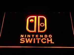 Nintendo Switch LED Neon Sign