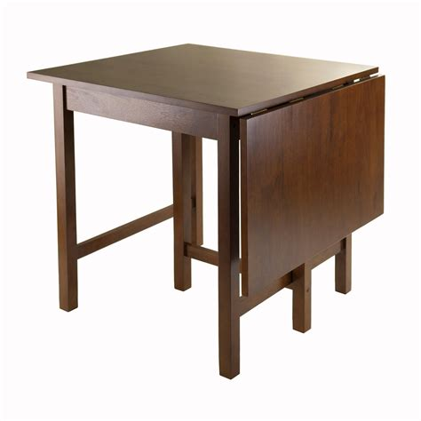 pedestal tables amazon com winsome lynden drop leaf dining table tables
