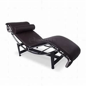 Le Corbusier Stil : le corbusier style lc4 chaise longue brown leather replica ~ Michelbontemps.com Haus und Dekorationen