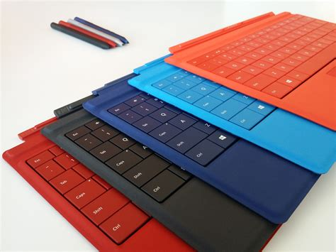 surface pro keyboard colors microsoft surface 3 promises great battery costs