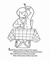 Coloring Goose Mother Nursery Rhymes Pages Tommy Tucker Quiz Sheets Bluebonkers Template Embroidery Templates Hand Popular sketch template