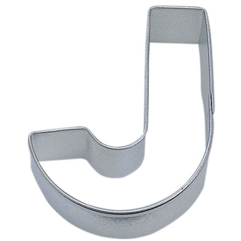 letter cookie cutters letter j cookie cutter cookie cutter experts since 1993 22794
