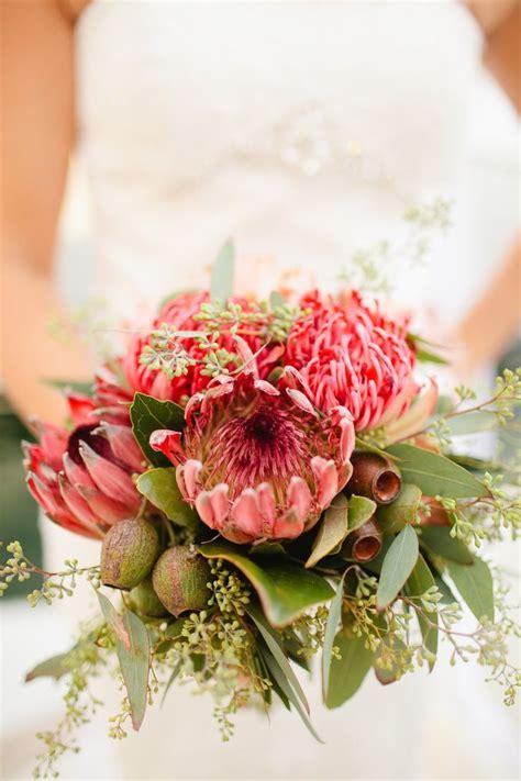 King Protea Bouquet Australian Native Bouquets Pinterest