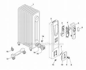 Delonghi Ew7507eb Parts List And Diagram