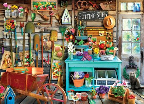 100% working on 198,427 devices, voted by 46, developed by garena international i private limited. The Potting Shed - 1000pc Jigsaw Puzzle by Eurographics ...