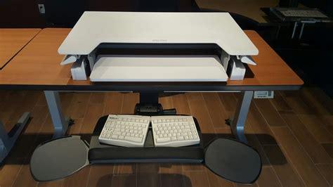 Ergotron Workfit T Sit Stand Desktop Workstation by Sit Stand Ergotron 33 397 085 Workfit T Desktop Workstation