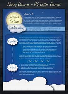 Free Unique Resume Templates Word Nanny Resume Template By Codegrape On Deviantart