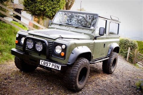 how to sell used cars 1986 land rover range rover electronic valve timing for sale ex mod land rover defender 90 1986 classic cars hq