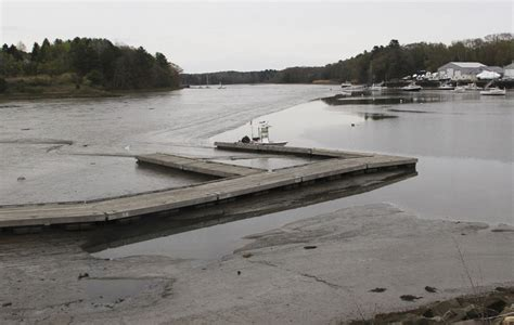 Yarmouth Boat Landing by Drainers Cause Problems In Yarmouth The Portland