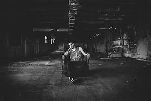 evan thompson, boy, cute, alone, black and white - image ...