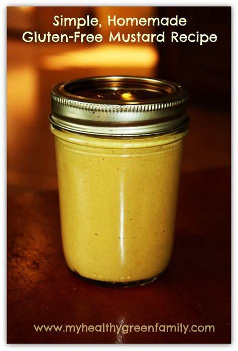 How to Make Simple Homemade Gluten-Free Yellow Mustard Recipe