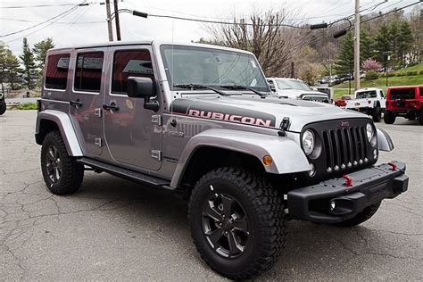 rubicon jeep 2017 jeep wrangler rubicon recon unlimited billet