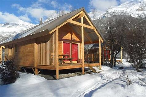 chalet bourg maurice cing s 233 jours hiver huttopia