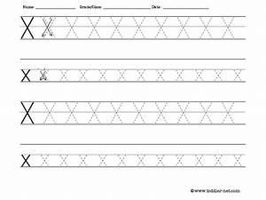 6 Best Images of Free Printable Preschool Letter X ...