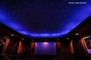 Star Ceiling Fiber Optics or Painted? - Night Sky Murals