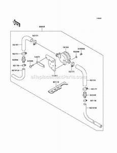 Kawasaki 1100 Stx D I Jt1100-f2 Parts List And Diagram