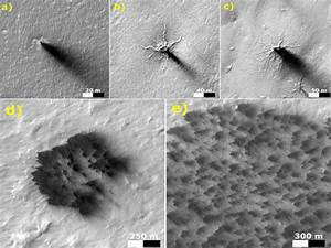 In Pics: NASA finds 'spiders' on Mars - Oneindia