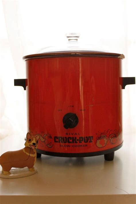 vintage rival crock pot cooker orange color working 28 best vintage crock pot images on crock pot