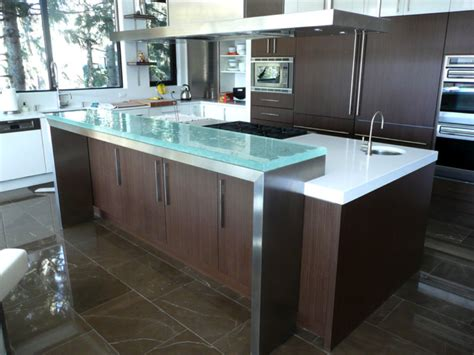 6 popular glass countertop types cgd glass countertops