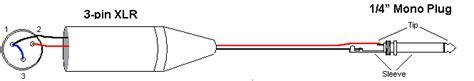 xlr to 1 4 wiring diagram best wiring diagram