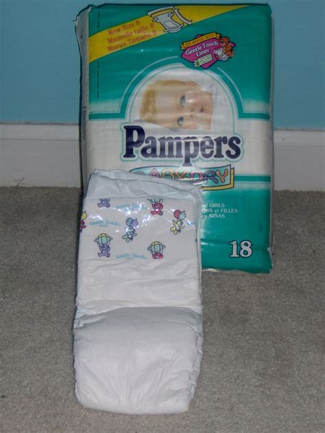 Pampers 1998 13 Pampers Baby Dry Size 6 Pampers