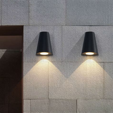 modern led wall light porch lights waterproof ip65 for