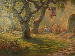 OTTO CLASSEN (1868-1939) vintage California impressionist ...