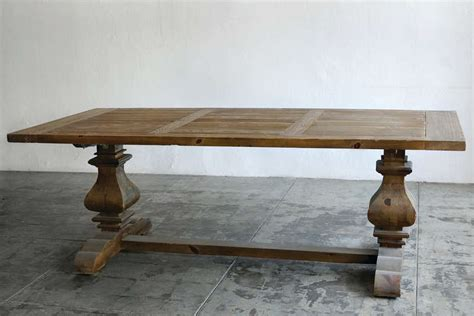 douglas fir dining table large provincial farmhouse trestle dining table douglas