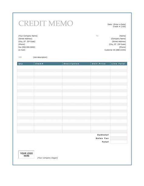 credit memo template credit memo template microsoft word templates