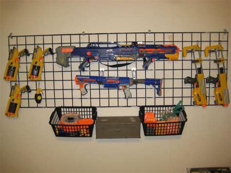 nerf gun rack gun rack plans for wall woodworking projects plans
